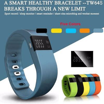 Fitness Activity Tracker Pedometer TW64 Smartband Bracelet Watch IOS Android