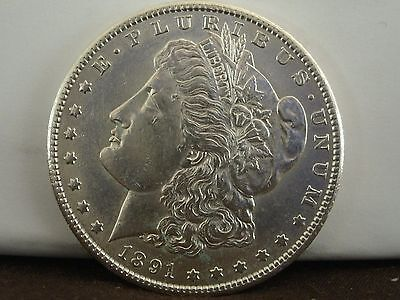 1891-S $1 Morgan Silver Dollar   #750
