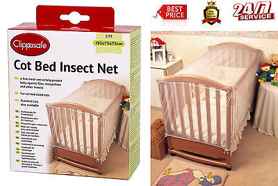 Cover Save Baby Bed Cot Curtain Infant Net Fly Insect Mosquito Midges Canopy New