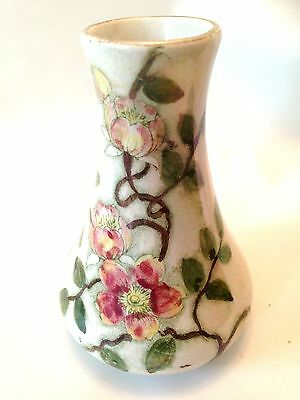 ANTIQUE H.J.WOOD BURSLEM HAND-PAINTED 13cm VASE Mod.119 c1900