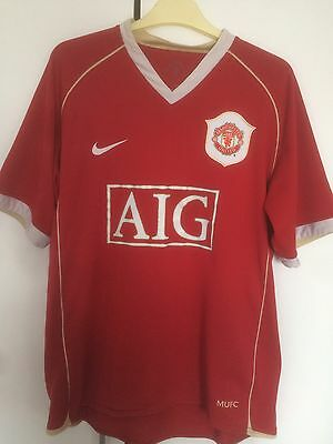 Manchester United Home shirt 2006 Rooney 8 Print