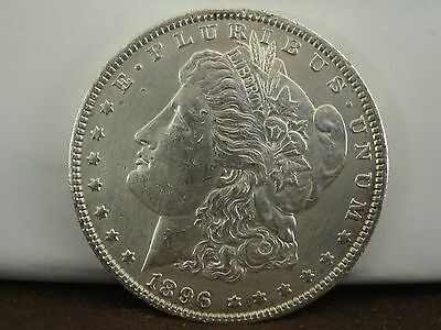 1896 $1 Morgan Silver Dollar   #22