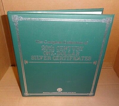 The Complete Collection of 20th Century One Dollar Silver Certificates : AA083
