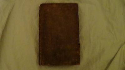 Elements of Elocution *1806* leather book SPEAKING 19th century