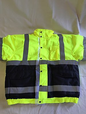 OLD TOLEDO BRANDS UHV563-2X-YB Jacket with Removable Liner 2XL Yllw/Blk *11A*