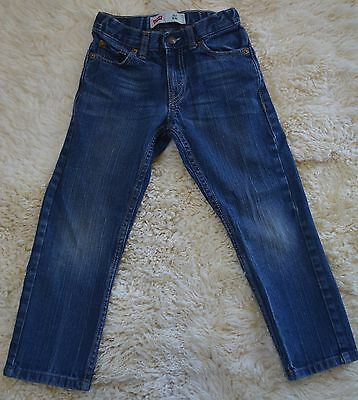Boy's Youth Levi's 511 Blue Jeans Slim Fit Size 5 Regular - 20x18