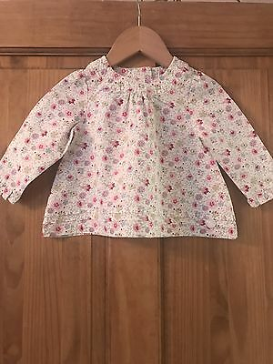 Girls Ted Baker Top Size 9-12 Months