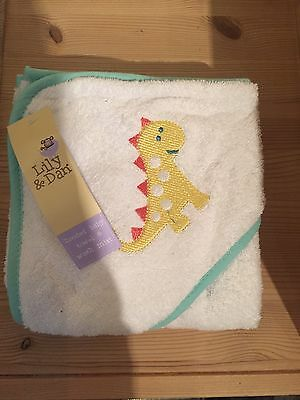 Hooded Baby Towel And Wash Mitt