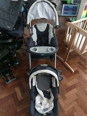 Chicco Pram and baby seat**colection only*** Basingstoke