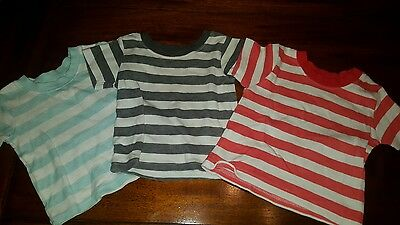 George Baby Boy's short sleeved tops shirts , 0-3 Months (A251)
