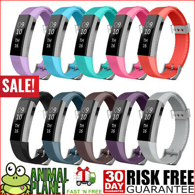 10-Pack  Band for Fitbit ALTA HR Soft Silicone Wristband Small NEW US