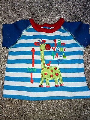 Boys T-Shirt From Babaluno Baby Size 0-3 Months