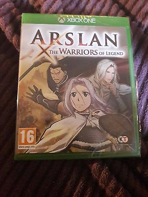 Arslan The Warriors Of Legend   'New & Sealed' *XBOX ONE (1)*