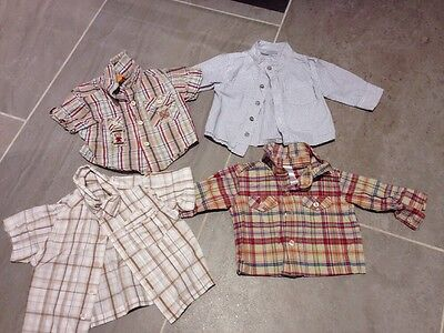 Baby Boys Shirts 0-3 Months