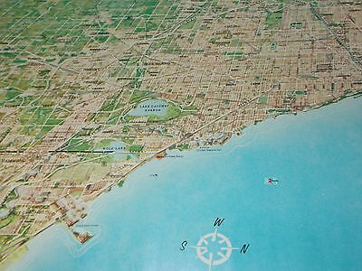 Chicago rama map by Homer Grooman 1961