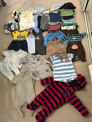 baby boy clothes 0-3 months lot Carters