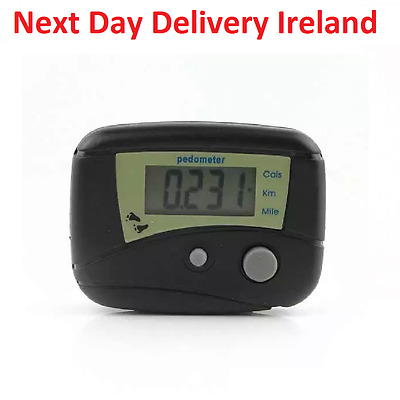 Digital LCD Step Pedometer Calorie Counter Odometer Distance Fitness Wholesale