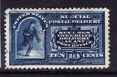 USA 1888 SG224 10c deep blue special Delivery stamp - very fine used. Cat £45