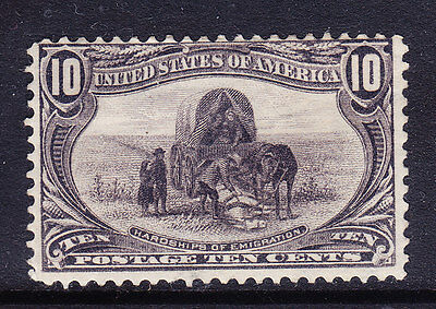 USA TRANS MISSISSIPPI EXPO 1898 SG296 10c slate-violet - mounted mint. Cat £190