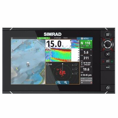 NEW Simrad Nss12 Evo2 Combo Multifunction Display Insight 000-11192-001