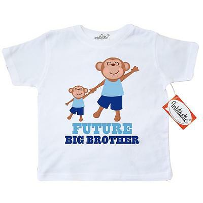 Inktastic Future Big Brother Toddler T-Shirt To Be Boys Announcement Siblings