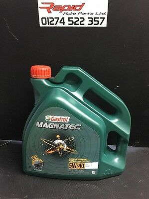 Castrol Magnatec 5W-40 C3 Fully Synthetic Engine Oil 5W40 4 Litres 4L X