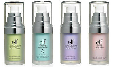 ELF FACE PRIMERS Mineral Brightening Neutralizing Poreless Hydrating e.l.f.