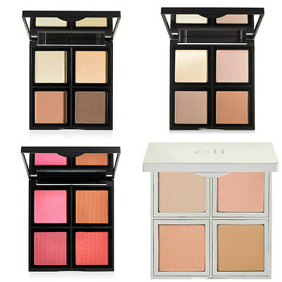 ELF Quad Face Palettes Contour Blush Highlight Glow Illuminating e.l.f. NEW IN!
