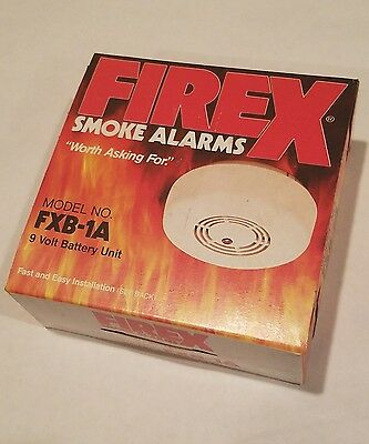 Firex Kidde Maple Chase Company Fxb-1A 9V Dc Smoke Alarm Vintage Very Rare New