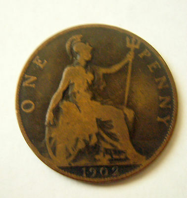 1902 to 1965 Great Britain One Penny Coin      Your choice of 3 from list below