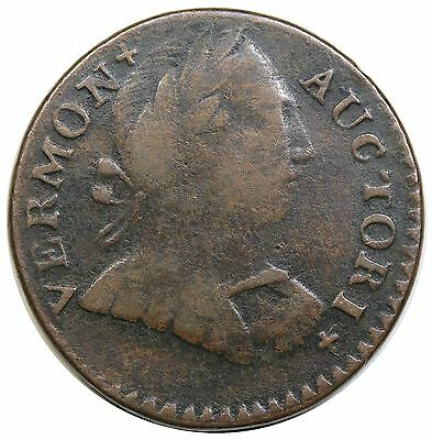 1788 Vermont Copper, Bust Right, Ryder 25, VF