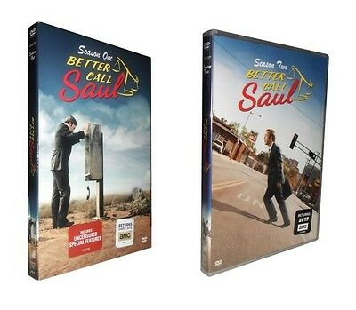 Better Call Saul: The Complete Seasons 1 & 2  (DVD, 2016, 6-Disc Set)