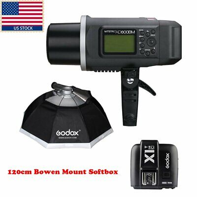 Godox AD600BM 600W HSS 1/8000s Studio Flash + X1T-C Trigger + Softbox For Canon