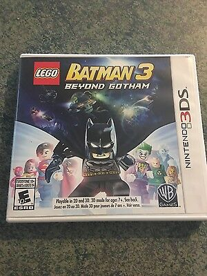 LEGO Batman 3: Beyond Gotham Nintendo 3DS Very Good Condition