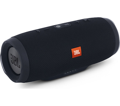 New Jbl Charge 3 Portable Bluetooth Speaker Waterproof Design (Black)