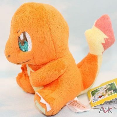 Hot Pokemon Bulbasaur Charmander Squirtle Monster Stuffed Soft Plush Toy Doll