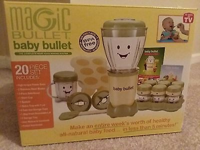 """Magic Bullet """" Baby Bullet """" Care System 20Pc Set * New In Box !"""