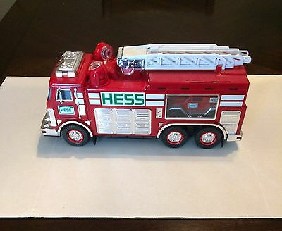 2005 Hess Fire Truck with rescue vehicle Used No Box