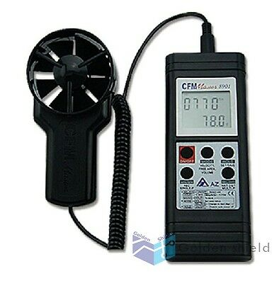AZ-8901 Handheld RS232 Output Anemometer  New