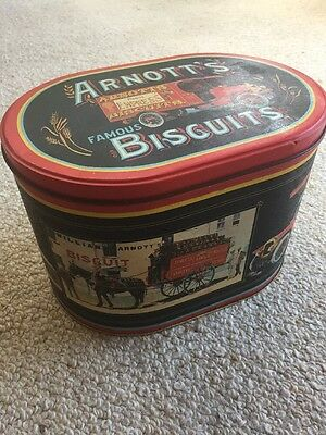 Arnott's Biscuits Vintage Collectable Retro Biscuit Tin Delivery Assortment