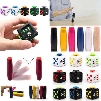 Fidget Cube Hand Desktop Spinner Anxiety Stress Relief Focus Toy For Adults/Kids