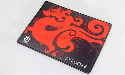 Red TYLOO SteelSeries QcK Gaming Mouse Pad Mat Medium M Size 320*240*3MM