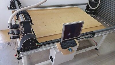 CNC router table for milling, engraving, signwriting, 3D carving - 2640x1240