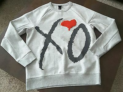 Mens - Unisex The Weeknd XO collection Sweatshirt Grey size M