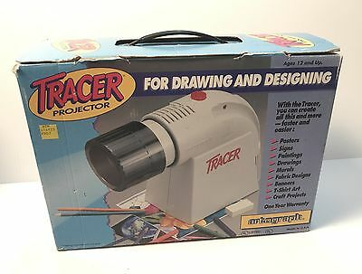 Artograph Tracer Projector Enlarger Art Drawing Design Model 225-360 With Bulb