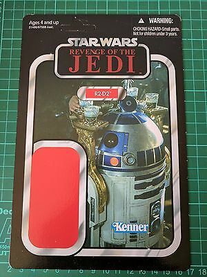 Star Wars 2011 Vintage Collection Vc25 Promo Proof Card Back Rotj R2-D2
