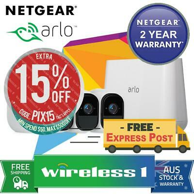 NETGEAR Arlo Pro HD with 4 HD Cameras (VMS4330 + VMC4030) Bundle