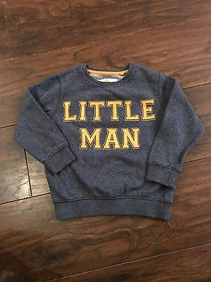 Boys Next Grey Jumper 2-3 Years