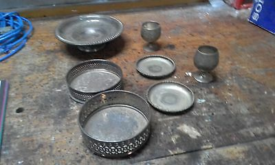 Silver dishes Job lot