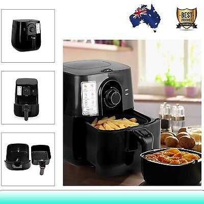 3L Air Fryer Oil Free Deep Fry Kitchen Healthy Rapid Cooker Low Fat Food 1500W